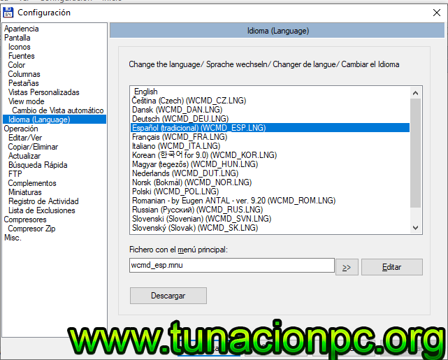 Descargar Total Commander Multilenguaje con Activador