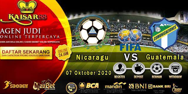 Prediksi Bola Terpercaya Liga Friendlies Nicaragua vs Guatemala 07 Oktober 2020