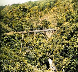 jembatan di atas lae renun di sidikalang