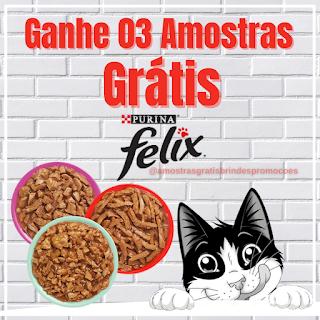Amostra Grátis Ração para Gato da Marca Purina Felix