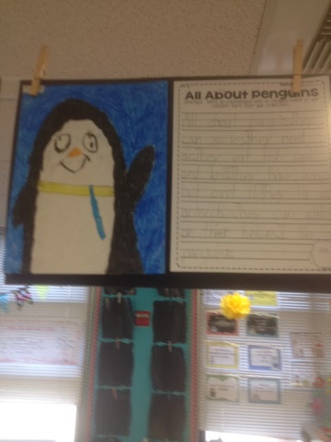 penguin directed draw and writing