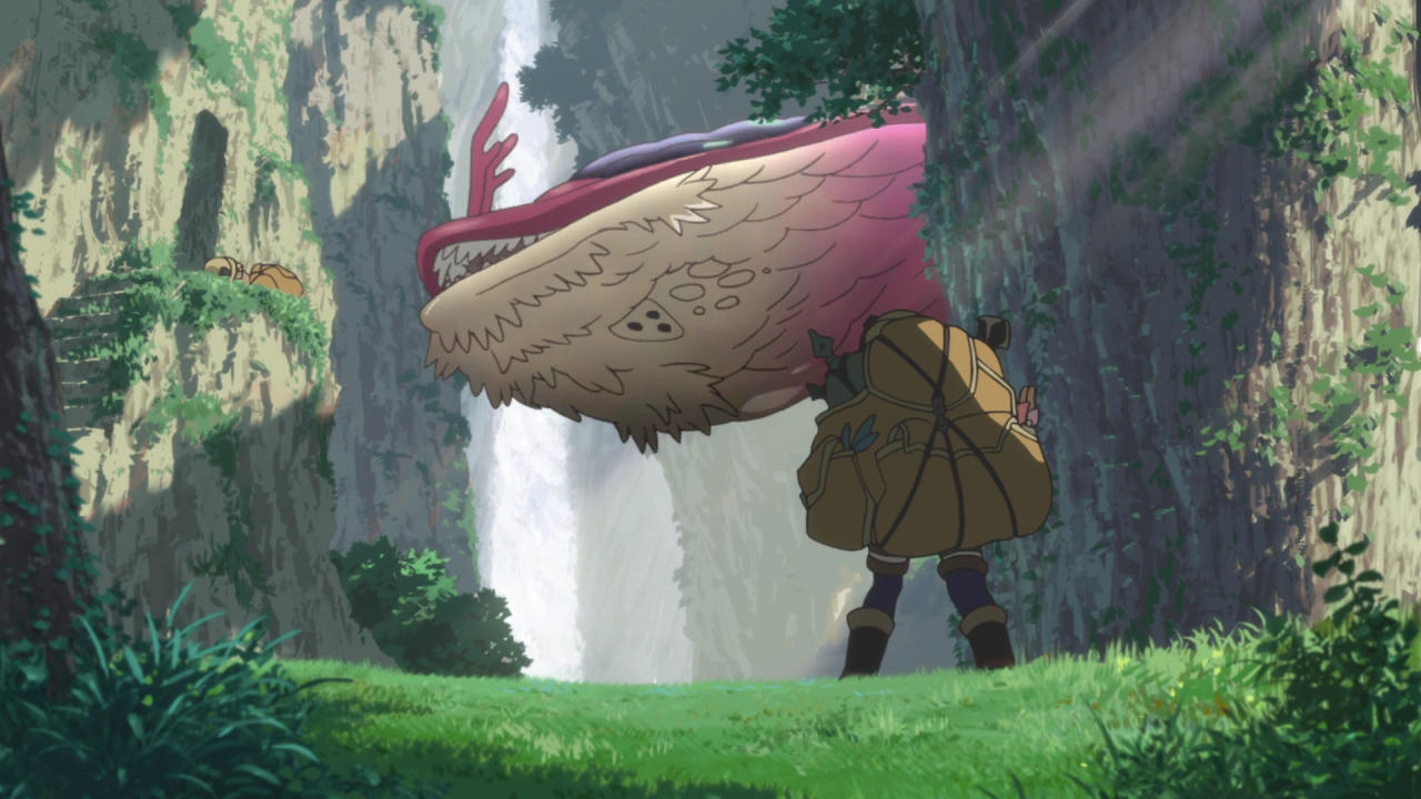 Kadr z Made in Abyss