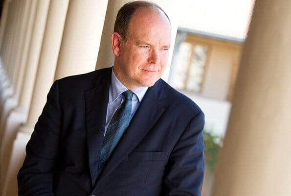 Coronavirus tests of Prince Albert of Monaco. Prince Albert attended a charity event with Prince Charles, Prince of Wales