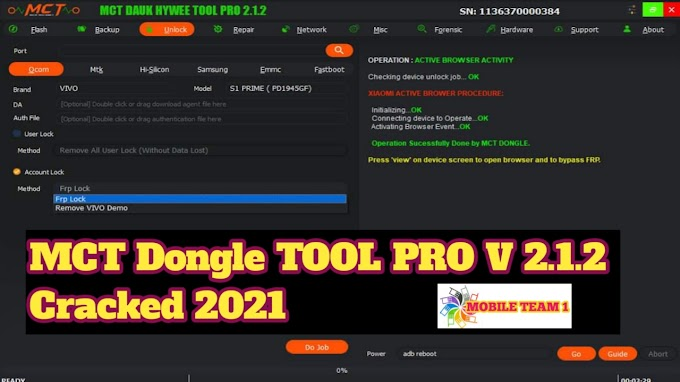 MCT Dongle TOOL PRO V 2.1.2  CRACK 2021, Without Dongle, Errors fix