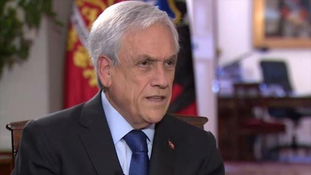 Sebastián Piñera descarta dimitir pese a protestas en Chile