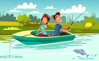 حب الصيد وحب البحر