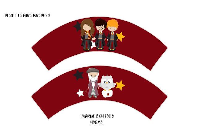 kit, imprimible, fiesta, cumpleaños, harry potter, gratis
