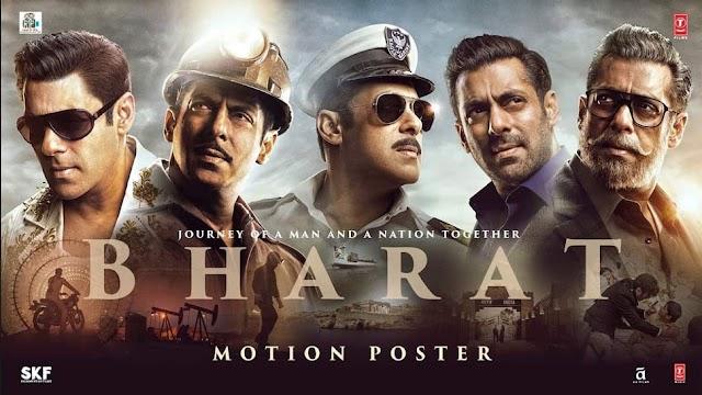 Salman Khan's Bharat full HD movie free download leaked online by tamil rockers