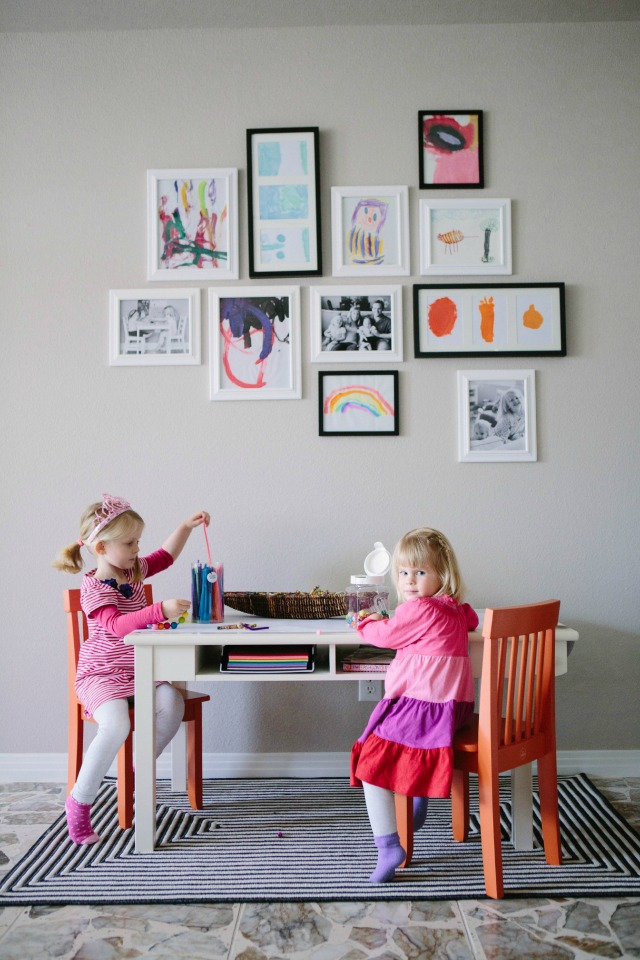 A Kid-Friendly Living Room with Hayneedle.com | Design Improvised