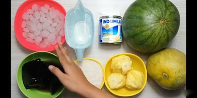 bahan untuk membuat es campur