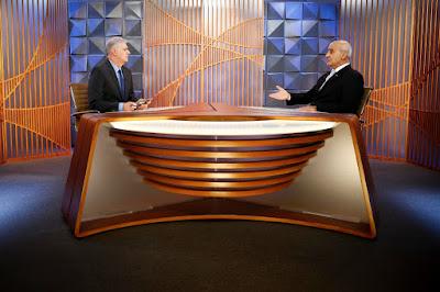 Fernando Rodrigues entrevista o ministro (Crédito: Sérgio Lima/Poder 360)