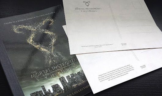 Mortal Instruments: City of Bones Postcards | Cookietales (dieneryn)