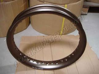 Velg Pelek Wilwood Warna Titanium Setengah Lingkaran U Shape
