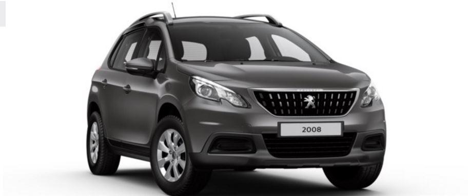 Colori Peugeot 2008 SUV grigio hurricane