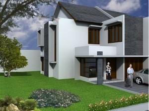 Desain Terbaru Rumah Minimalis Dengan 2 Lantai Elegan Gaya Modern Catatan Kecil