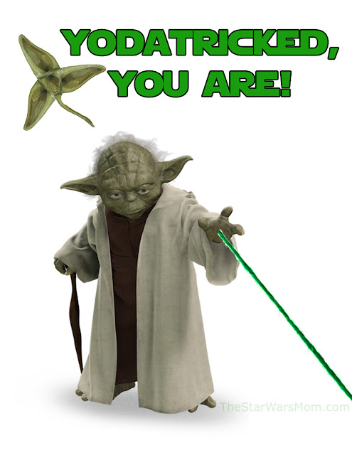 Yodatricked, you are! Happy St. Yodatrick Day! Star Wars St. Patrick's Day.