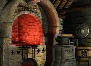 Juegos de Escape - Medieval House Escape