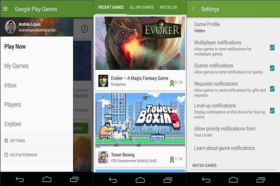 تحميل برنامج العاب جوجل بلاي Google Play Games للاندرويد