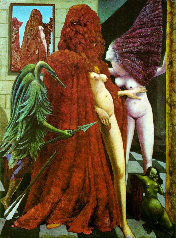 Max Ernst French Dadaist Surrealist Painter
