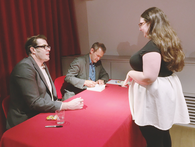 Pointless book signing