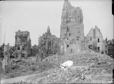 Arras Town Hall, May 1917, © IWM (Q 2047), IWM Non-Commercial Licence