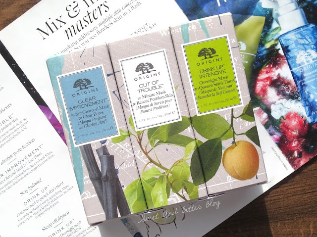 Origins Face Masks Travel Size Gift Box Trio Set