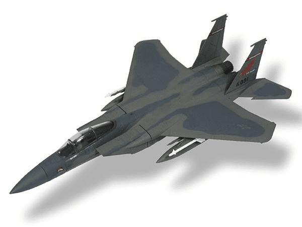 aviones de combate F-15C Eagle