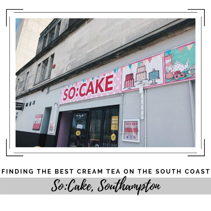 Finding the best cream tea on the south coast - So:Cake, Southampton. Judging criteria include price, clotted cream quantity, location and aesthetic