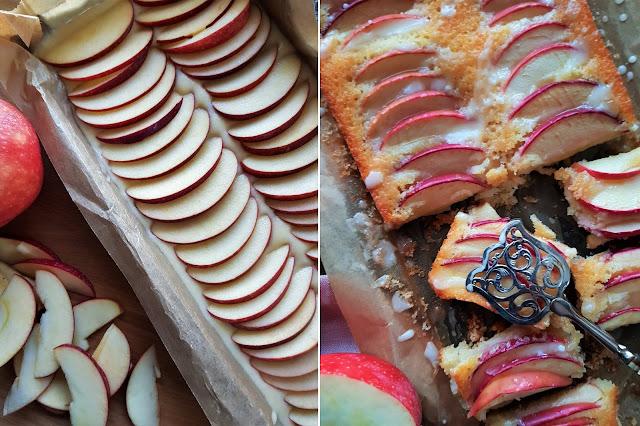 Apfelkuchen mit Ginger Ale