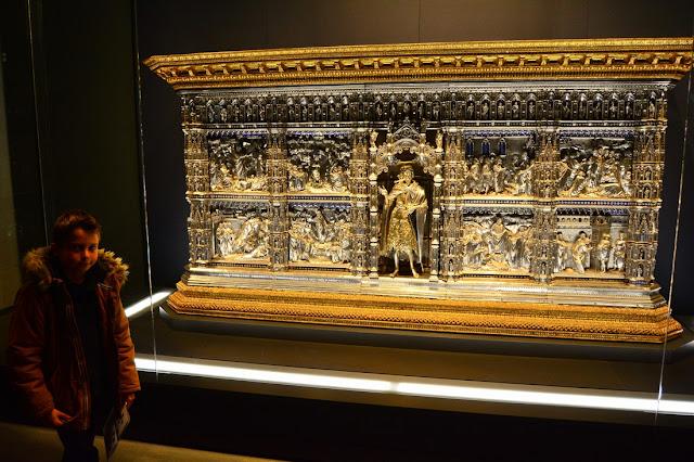 autel en argent du baptistère de San Giovanni
