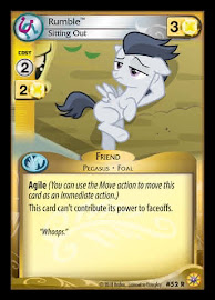 My Little Pony Rumble, Sitting Out Friends Forever CCG Card