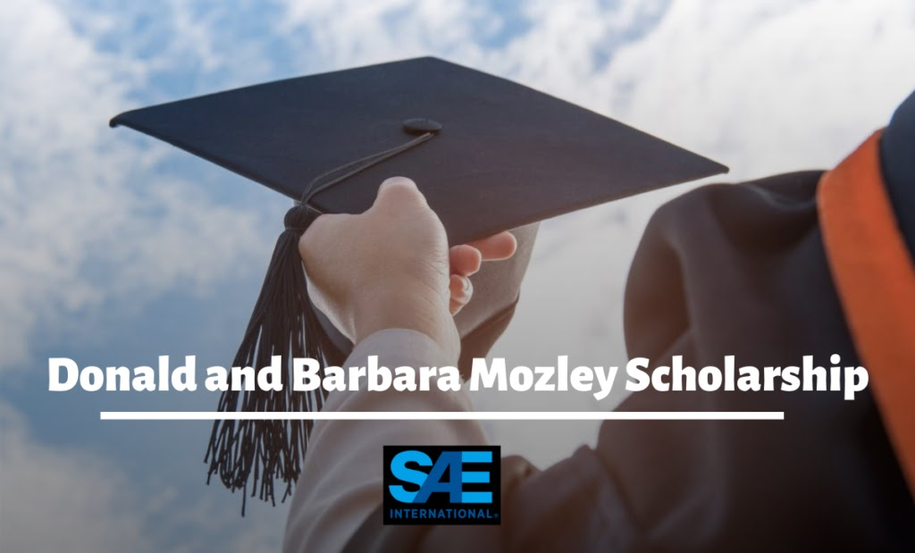 Donald And Barbara Mozley Scholarship 2020