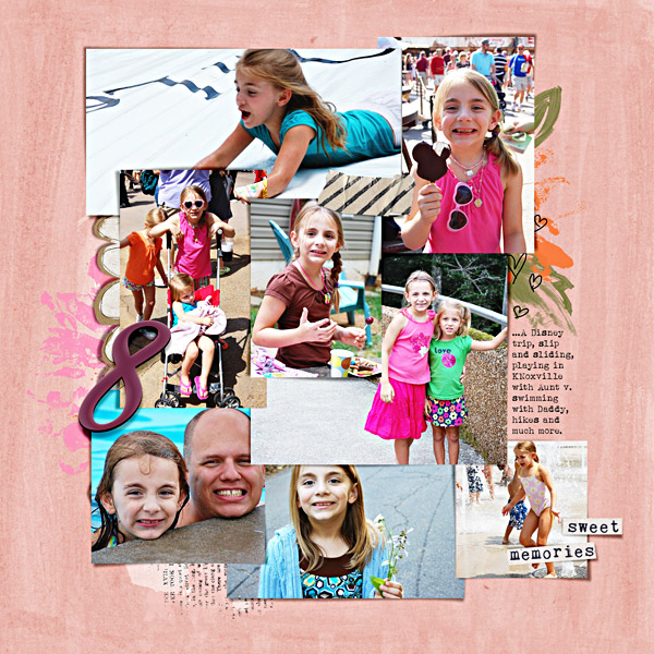 Year 7 {right} - Digital Scrapbook Page by Liz