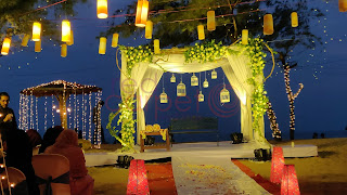 destination BEach wedding planner  stage decor kerala india