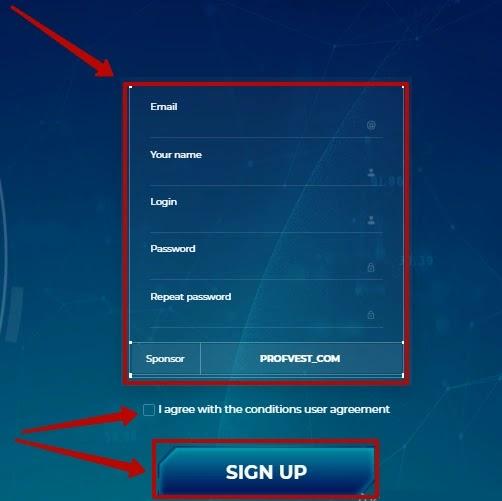 Регистрация в Pulse Bitcoin 2
