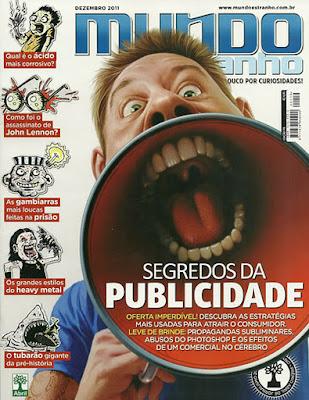 Revista Mundo Estranho Dezembro 2011 Ed.119