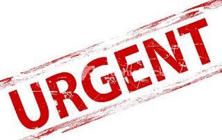 Arti Dari Kata Urgent dan Urgency