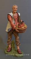 statuetta personalizzata idea regalo padre modellino presepio milano orme magiche