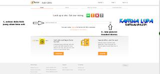 Cara Cek Dan Cara Mengetahui Kemanan Sebuah Situs Website Hanya Dengan Sebuah Link Di Norton SafeWeb