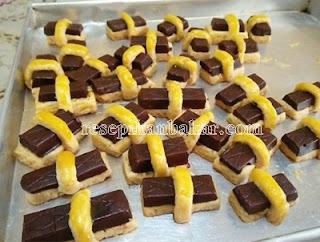 Resep Kue Kering Coklat Batangan