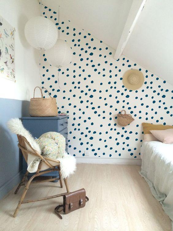 Ou Appliquer De La Peinture Ou Du Papier Peint Dans Les Chambres D Enfant Pellmell Creations