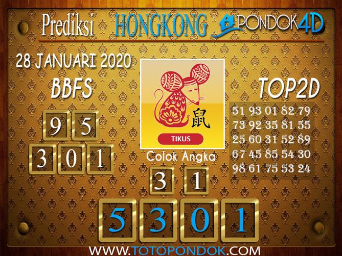 Prediksi Togel HONGKONG PONDOK4D 28 JANUARI 2020
