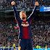 Lionel Messi festejó en las redes la goleada del Barcelona al Real Madrid