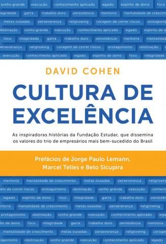 Cultura de Excelência – David Cohen Download Grátis