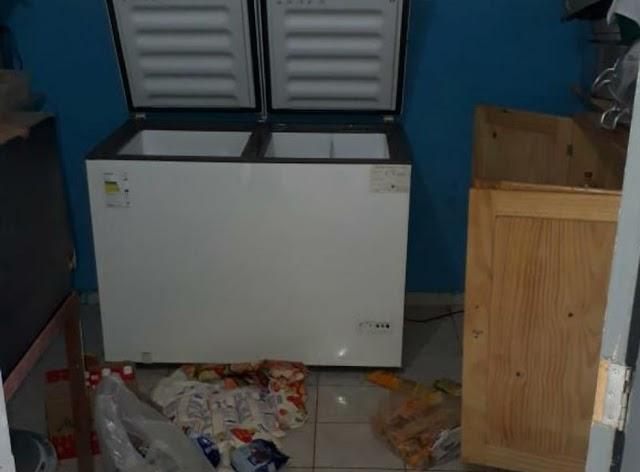 Escola é arrombada e tem todo o estoque de alimento roubado em Itabela
