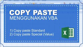 2 cara copy paste menggunakan Macro VBA