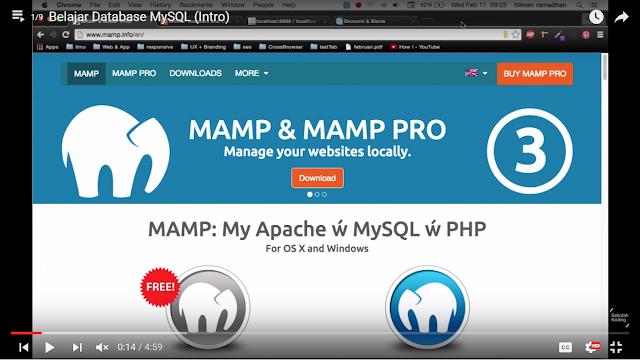 Tutorial 1 : Belajar Database MySQL (Intro)