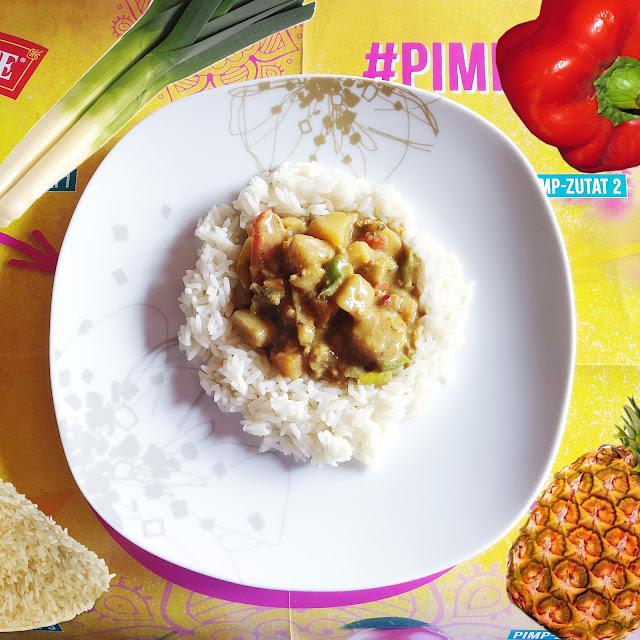 Indisches Thai Curry