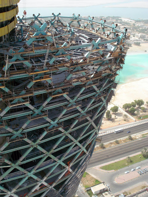 Capital Gate Building Leaning Tower of Abu Dhabi