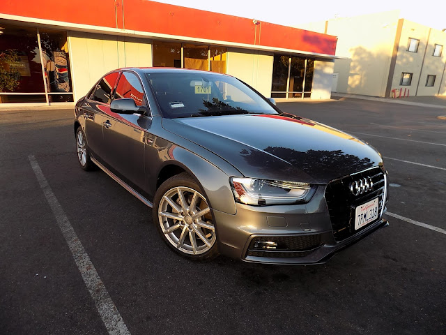 2016 Audi A4 after repairs at Almost Everything Auto Body.